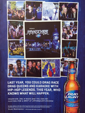 Bud Light - Last Year, You Could Drag Race
