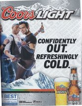 Coors Light - Confidently Out