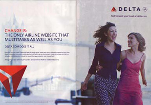 Delta Airlines - Change Is