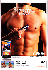 Gillette Fusion - Make your body style the best accessory this summer