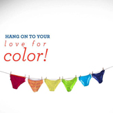 Hanes - Hang On To Your Love of Color!