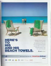 American Airlines - His and His