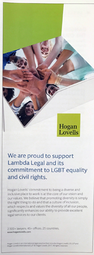 Hogan Lovells - Proud to Support Lambda Legal