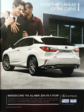 Lexus - Style that's Ahead of the Curve