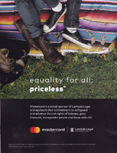 Mastercard - Equality for All: Priceless