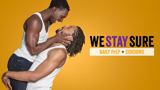 Health awareness - We Stay Sure - Black Male Couple