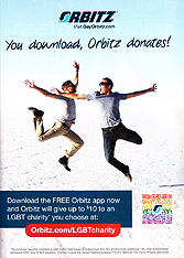 Orbitz - You Download, Orbitz Donates!