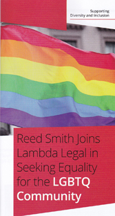 Reed Smith - Seeking equality for the LGBT community/Lambda Legal