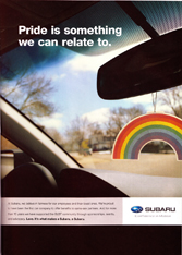 Subaru - Pride is something we can relate to