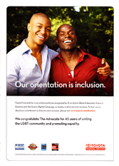 Toyota Financial Services - Our orientation is inclusion.