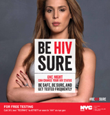 Health awareness - Be HIV Sure - Carmen Carrera