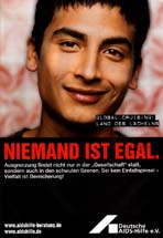 Gay/Lesbian health awareness - Niemand Ist Egal