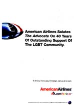 American Airlines - 40 Years of Outstanding Support