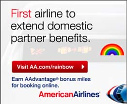 American Airlines - First Airline to Extend Domestic Partner Benefits