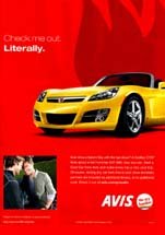Avis Rent A Car - Check Me Out