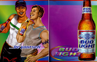 Bud Light - Rainbow Pair