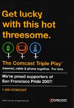 Comcast - Get Lucky With This Hot Threesome