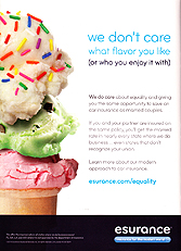 Esurance Insurance Services - We don't care what flavor you like (or who you enjoy it with)