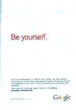 Google - Be Yourself