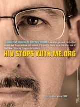 Gay issues awareness - HIV Stops With Me-Oregon