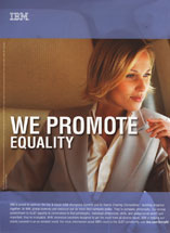 IBM - We Promote Equality