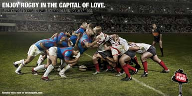 Paris - Enjoy Rugby In the Capital of Love