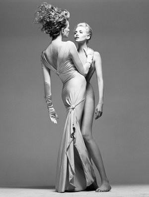 Versace - Evening Gown and Naked