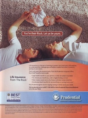 Prudential - You're their rock. Let us be yous