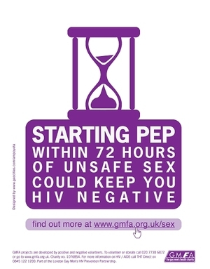 Gay/Lesbian Awareness - Pep Within 72 Hours of Unsafe Sex Could Keep You HIV Negative