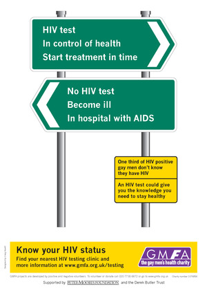 Gay/Lesbian health awareness - Know Your HIV Status