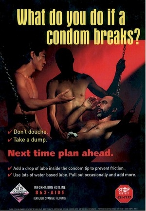 What to do when the condom breaks