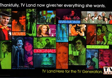 TV Land - Thankfully, TV Land now gives her everything she wants.