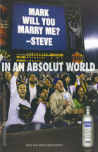Absolut vodka - Will You Marry Me?